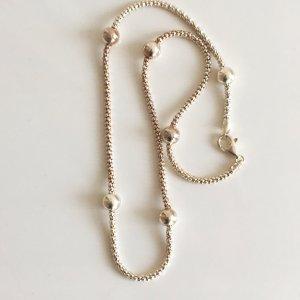 70s Silber Kordel Kette 925 Silber Design Milor Silberkette Silber collier