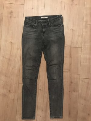 731 Skinny Levis graue Jeans