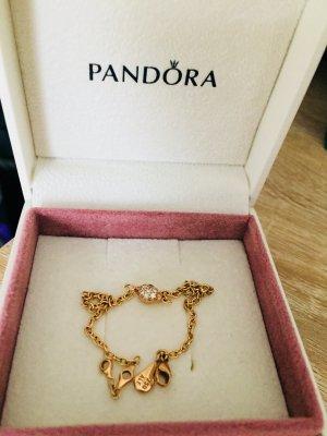 750 Gold Armband Pandora mit 14 Brillanten