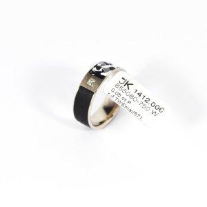 750 Weißgold Ring. 1 Diamant 0,05ct. Lupenrein IF/TW Gr. 54. UVP 1412,00€
