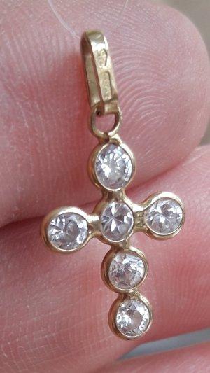 750gold Kreuzhänger