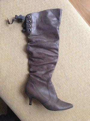Stiefel von DUNE, grau, kniehoch
