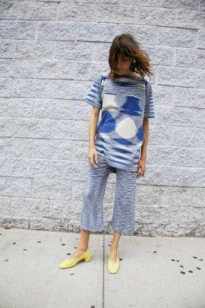 790$ Lauren Manoogian L.A. Designer Kleid Öko Yoga Iro Luxus Maryam Nassir Zadeh