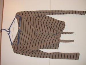 jäckchen h&m jacke cardigan gestreift kurz