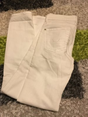 7for all mankind Jeans weiß Gr. S
