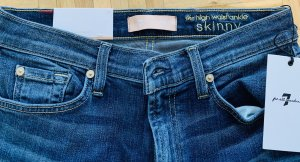7 For All Mankind Vaquero skinny azul aciano