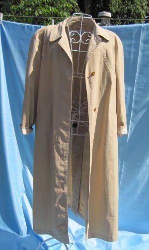 Trenchcoat brun sable coton
