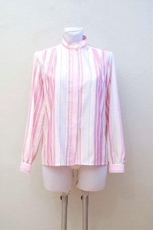 80er Vintage Bluse - Kunstseide