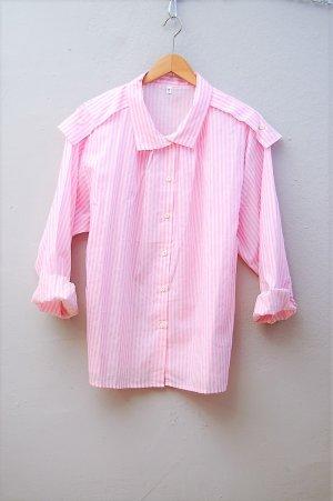 80er Vintage Bluse mit Streifen