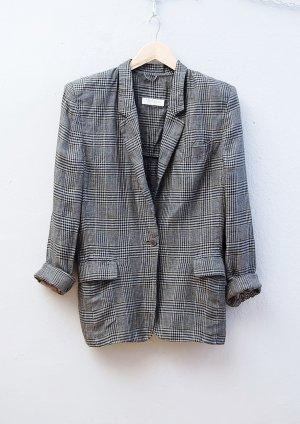 80er Vintage Leinen Blazer