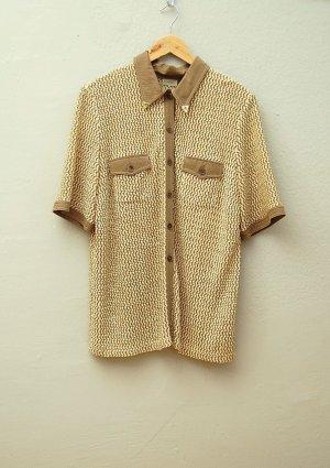 80er Vintage Netz-Hemd - Oversize