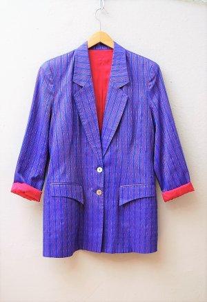 80er Vintage Seiden Blazer