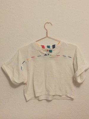 80s Vintage cropped Top XS oversize
