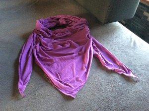 Neckerchief lilac cotton