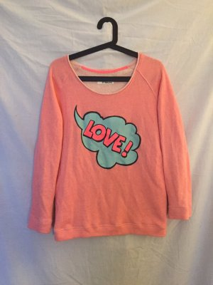 81hours Sweater turquoise cotton