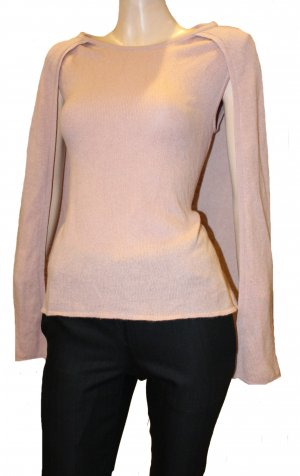 81hours Knitted Top dusky pink cashmere