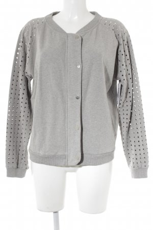 81hours Bomber Jacket light grey casual look