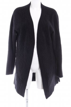 81hours Cardigan noir style simple