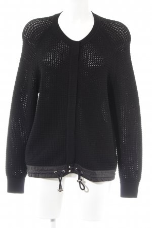 81hours Cardigan all'uncinetto nero stile casual