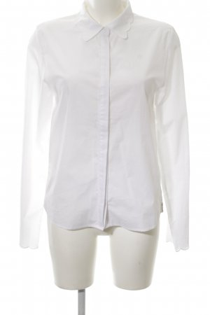 81hours Long Sleeve Blouse white business style
