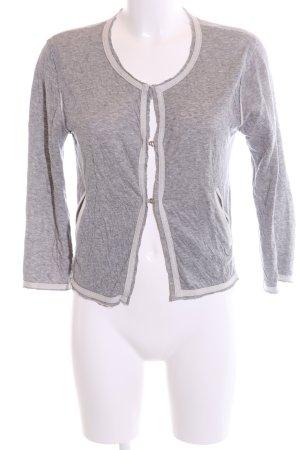 81hours Giacca-camicia grigio chiaro puntinato stile casual