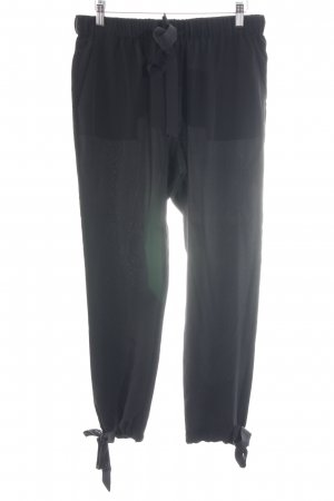 81hours Jersey Pants black casual look