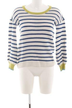81hours Pull tricoté motif rayé style décontracté