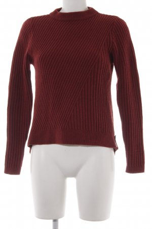 81hours Knitted Sweater russet casual look