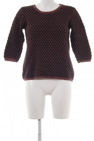 81hours Knitted Sweater russet-black casual look