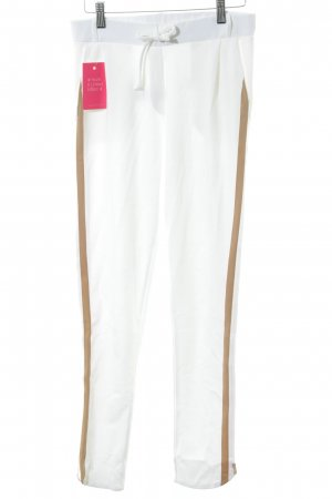 81hours Sweat Pants white-light brown casual look