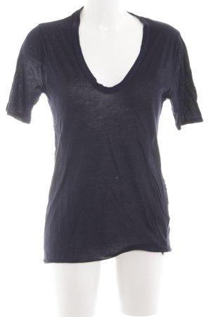 81hours T-shirt blu stile casual