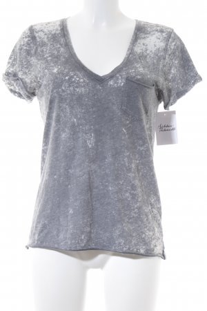 81hours T-Shirt grau Casual-Look