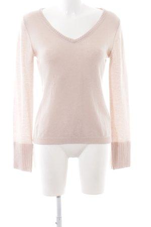 81hours V-Ausschnitt-Pullover pink Casual-Look