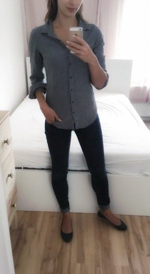 86€ Abercrombie & Fitch Jeans dunkelblau tief super low waist 0R W25
