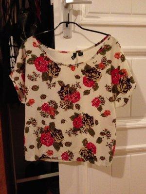 HM Blumen Print Shirt