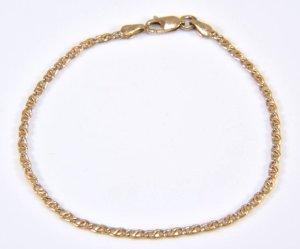8kt 333er Gold  Armband Goldarmband Armkette Echtgold Gelbgold Gliederarmband Luxus vintage