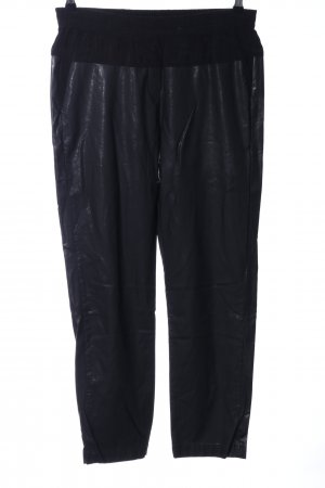 8PM Pantalone jersey nero stile stravagante