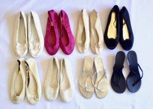 8x Gr. 39 Ballerina + Sandaletten new & used