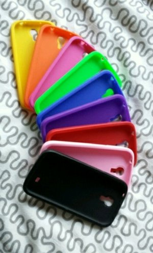 9 Silicone Cases for Samsung Galaxy s4