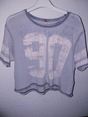 90's Shirt grau