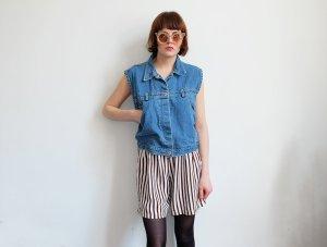 90er jahre grunge jeansweste S M blau
