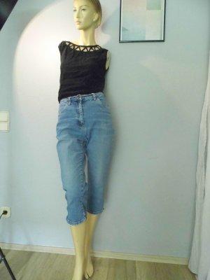90er Vintage Culotte Caprihose 3/4 Highwaist mit stretch