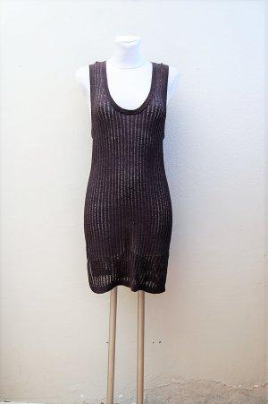 90er Vintage Häkel Strick Kleid / Longtop