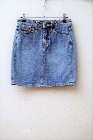 90er Vintage High Waist Jeans Minirock