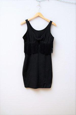 90er Vintage Kleid mit Fransen