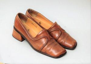 90er Vintage Leder Schuhe