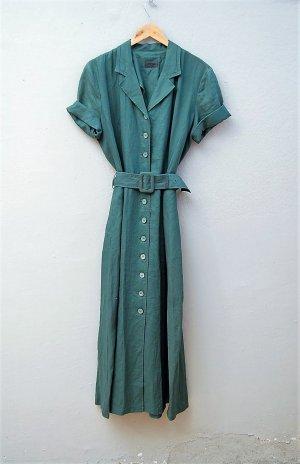 90er Vintage Leinen-Kleid