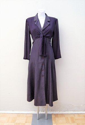 90er Vintage Seiden Kleid
