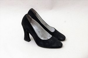 90er Vintage Wildleder Pumps