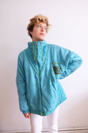 90s ellesse sportjacke trainingsjacke made in italy unisex oversize